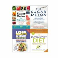 Valter Longo Longevity Diet Recipes Lose Weight 4 Books Collection Set NEW