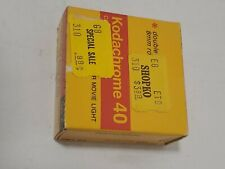 Vintage Kodak Kodachrome 40 Color Movie Film, Super 8 Cartridge KMA 464 TypeA TN