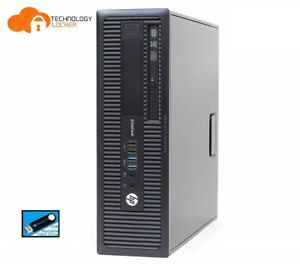 HP ProDesk 600 G1 SFF Intel i3-4130 @3.40GHz 8GB RAM 2TB HDD Win 10 Pro