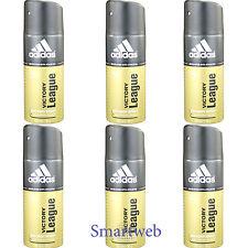 6 x 150ml Adidas Deo Victory League Deospray Herren Deodorant Parfüm Bodyspray