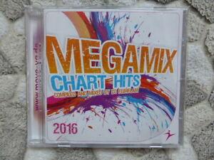 "MOVE-YA CD AEROBIC FITNESS CARDIO WORKOUT ""MEGAMIX CHART HITS 2016""."