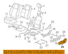 GM OEM Front Seat-Seat Cover-Outer 22731014