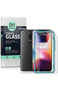 Ibywind Screen Protector for OnePlus 6 [Pack of 2]