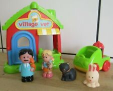 Early Learning Centre Happyland Village Vets Playset With Figures & Car
