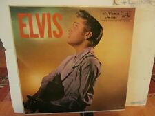 """Elvis Presley""""Elvis""""lp12""""or.usa.1956.1.ère press/ verso 1 de octobre 1956.lire.."""
