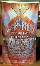 Rock on the Range Line up Flag Huge 3x5ft Rob Zombie Five Finger Red Hot Chili