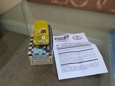Scalextric C76 mini yellow clear  reproduction boxed excellent condition