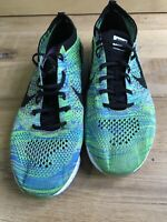 Nike Flyknit Zoom Agility Green Running Shoes Trainers Women's Size UK 6 EUR 40