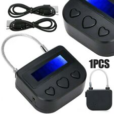 Digital Timer Switch USB Rechargeable Time Switch Lock Padlock Multipurpose!!