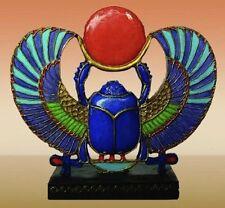 "NEW! 2 1/4"" Scarab Beetle Egyptian Egypt Gift Figurine Collectible Statue 1296"