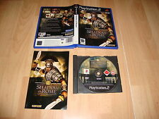 SHADOW OF ROME DE CAPCOM PARA LA SONY PLAY STATION 2 PS2 USADO COMPLETO