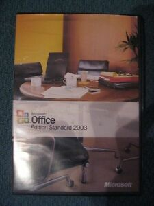 MICROSOFT OFFICE EDITION STANDARD 2003