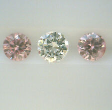 0.185ct! AUSTRALIAN ARGYLE PINK DIAMONDS PAIR 100% UNTREATED +CERT INCLUDED