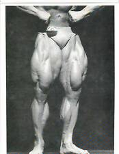 TOM PLATZ  Mr Universe Best Legs 1980 Bodybuilding Muscle Photo B+W