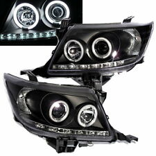 HILUX VIGO 2011-2013 CCFL Angel-Eye Projector HEADLIGHT BLACK for TOYOTA