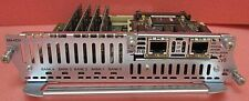 Cisco NM-HDV-2T1-48 NM-HDA with  4 x PVDM-12 and VWIC-2MFT-T1-DI