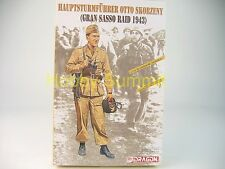 1/16 WWII German HAUPTSTURMFUHRER OTTO SKORZENY (1943) Dragon Soldier Kit # 1621
