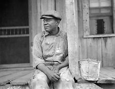 "1938 African American Tenant Farmer, NC Vintage Old Photo 8.5"" x 11"" Reprint"