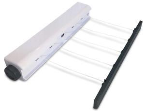 Indoor 5 Retractable Washing Line - Indoor Laundry Airer