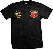 CCCP Flag Crest Russian Ruskie National Soccer Football Pride Mens T-shirt