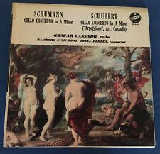 Gaspar Cassado: Schumann Cello Concerto A Minor/Schubert Cello Concerto A Minor