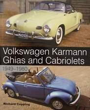 BOEK/LIVRE : VOLKSWAGEN KARMANN GHIA & CABRIOLET (vw kever,beetle,1500,1600