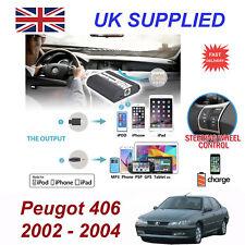 für Peugeot 406 iPhone 5 6 7 8 SE 10 MP3 AUX Digital Hör CD-Wechsler Modul RD3