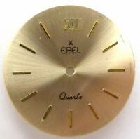 EBEL Quartz Zifferblatt vergoldet für Cal. 656, Ø 26,6mm, watch dial
