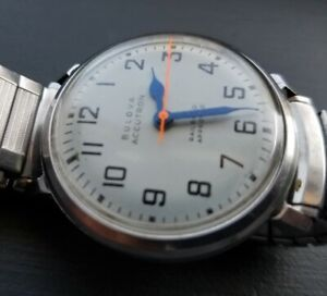 Bulova Accutron 214 - Railroad Approved - 1965 Vintage Wristwatch M5 Watch