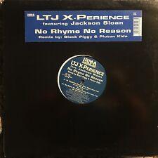 LTJ X-PERIENCE  • No Rhyme No Reason • Vinile 12 Mix • ICP 102