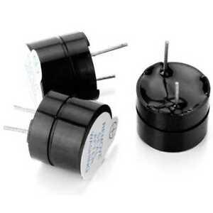 3x Aktive Buzzer Piepser Summer Ton Signalgeber Piezo 12mm 5V für Alarmmeldung