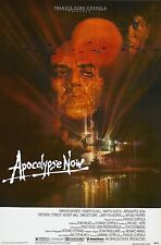 """Apocalypse Now Movie Silk Fabric Poster 11""""x17"""" 1979 Rare Version Marlon Brando"""