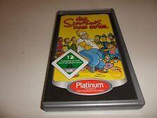 PlayStation Portable PSP  Die Simpsons - Das Spiel [Platinum]