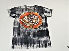 Sure  Black Tie Dye Original Sure Om Design Short Sleeeve TShirt Mens Medium