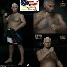 WorldBox 1/6 Mark Hunt figure Durable Body Fat Plump AT021 UFC ❶USA IN STOCK❶