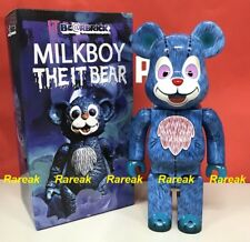 Medicom Be@rbrick 2017 Milkboy The IT Bear 400% Joker Horror Movie Bearbrick 1pc