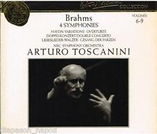 Toscanini Collection Vol. 6-9 - Brahms: Le 4 Sinfonie, Variazioni Haydn, etc CD