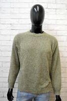 Maglione Uomo Ellesse Taglia 50 Felpa Cardigan Pullover Vintage Sweater Man