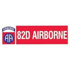 "ARMY 82ND AIRBORNE MILITARY  9"" CAR  STICKER DECAL"