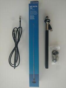 HIRSCHMANN AM FM Radio Chrome Telescopic Antenna/Aerial Jaguar Series 1 & 2 XKE