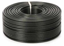 Black Nylon Tube 6mm O/D Terrarium Rain Monsoon Air Water Pneumatic Per Meter