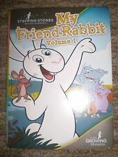 My Friend Rabbit Vol 1 DVD STEPPING STONES ENTERTAINMENT VERSION - FAST SHIPPER