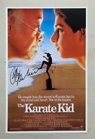 RALPH MACCHIO Signed 11x17 THE KARATE KID Movie POSTER Cobra Kai JSA COA