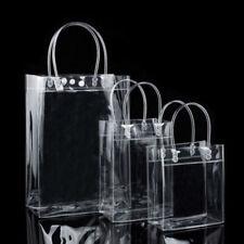 Shopping Bag Clear Tote Bag PVC Transparent Shoulder Handbag Women