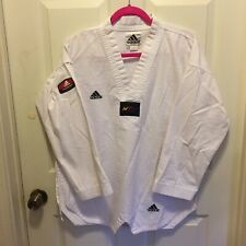 Vintage Adidas Taekwondo Jewoo Sports Uniform Shirt Korea GI
