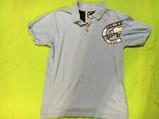 Ecko Unltd. Boy's Baby Blue & White Short Sleeve Polo Shirt.  Size 7.