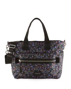 Marc Jacobs Women's Garden Paisley Biker Baby Bag, Purple Multi MSRP $320+