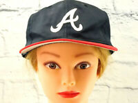 ATLANTA BRAVES Women's Embroidered Mesh Snapback Adult Trucker Baseball Cap Hat