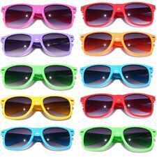 10 Pairs of  classic fun sunglasses gradient lens 80's vintage retro classic fun