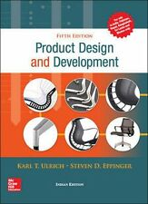 New-Product Design and Development by Steven Eppinger 5ed INTL ED